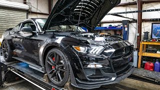 Download FIRST 2020 SHELBY GT500 TO HIT THE DYNO! *INSANE POWER RESULTS* Video