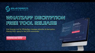 Download How to Decrypt WhatsApp Crypt12 Encrypted Databases & Extract Deleted Messages Video