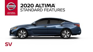 Download 2020 Nissan Altima SV Walkaround & Review Video