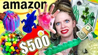 Download I Spent $500 on the WEIRDEST STRESS TOYS from AMAZON! Video