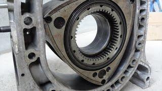 Download マツダRX7 13Bロータリーエンジン-ハウジングの傷 MAZDA-FC3C FD3C Rotary engine housing Video
