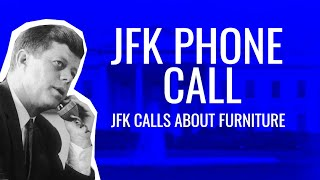 Download JFK Phone Call - More of JFK Cursing on the Phone Video