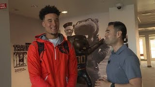Download Mike Yam joins Isaiah Hodgins to experience a day in the life of an Oregon State football standout Video