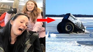Download We Fell Through a Frozen Lake! Video