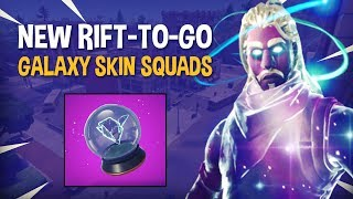 Download NEW Rift-To-Go | GALAXY SKIN SQUADS - Fortnite Battle Royale Gameplay - Ninja Video