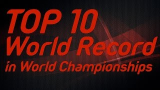 Download Top 10 World Records in IAAF World Championships Video