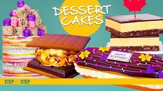 Download 4 Decadent Dessert CAKES Compilation | Dessert Inspired CAKES | How To Cake It | Yolanda Gampp Video