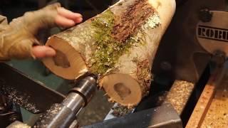 Download Turned Wood vase Video