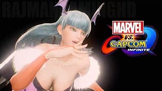 Download Marvel vs Capcom: Infinite - Morrigan & Captain America Reveal Trailer @ 1080p (60ᶠᵖˢ) HD ✔ Video