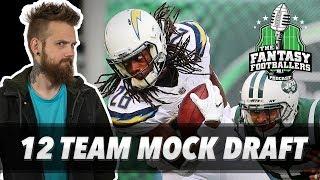 Download Fantasy Football 2018 - Live 12 Team Mock + Rankings Renovations - Ep. #569 Video