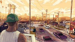 Download GTA V - CJ Is Back! Families Take Over Grove Street (GTA V movie) Video
