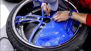Download 15 minutes How To Wrap Wheel Faces Like A Pro Using Gloss Riviera Blue To Match The Car Video