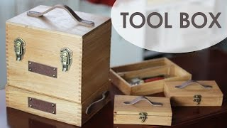 Download Vintage Style Tool Box Video
