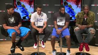 Download NBA2K Uncensored Kevin Durant Talks About Meeting Stephen Curry Video