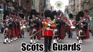 Download 1st Battalion Scots Guards homecoming parade Glasgow 2013 Video