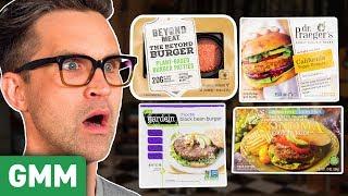 Download ULTIMATE Veggie Burger Taste Test Video