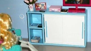 Download How to make a Sliding Door Cabinet for doll (Monster High, Barbie, etc) Video