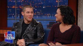 Download Why Are Demi Lovato & Nick Jonas Always In The Shower? Video