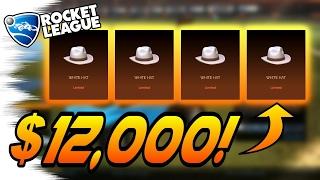 Download HE HAS 4 WHITE HATS! - Rocket League Trading/CC5 INFO! (Rare Stuff!) Video