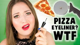 Download PIZZA CUTTER EYELINER?? OMG!! MAC Rollerwheel First Look! Video