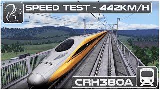 Download SPEED TEST! - Chinese CRH380A EMU (Train Simulator 2016) Video