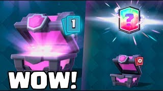 Download ONE LUCKY ''MAGICAL CHEST'' OPENING! :: Clash Royale :: TWO LEGENDARY IN ONE VIDEO! Video