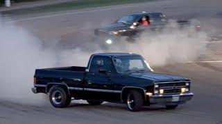 Download Pickup Truck Spectator Drags Night Racing @Beech Ridge 2017 Video
