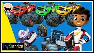 Download Blaze y los Monster Machines en Español | Patrones para niños | ToySurprise Video