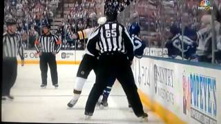 Download David Backes vs. Nazem Kadri FIGHT 10-15-16 Boston Bruins at Toronto Maple Leafs Video