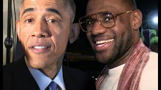 Download Mannequin Challenge :: Lebron James & President Barack Obama Mannequin Challenge At White House Video