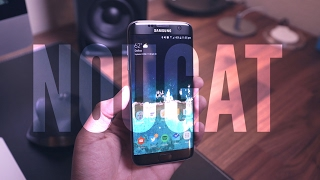 Download OFFICIAL Android 7.0 Nougat on S7 Edge! Video