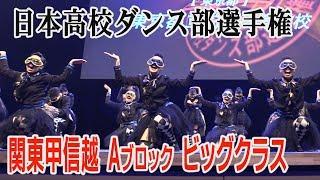 Download 日本高校ダンス部選手権 関東甲信越Aブロック ビッグクラス 全国大会出場校 Video
