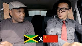 Download Jamaican gives funny chinese man a driving exam Video