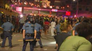 Download Riot breaks out at Black Lives Matter protest on I-94 Video
