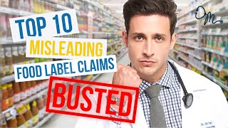 Download Top 10 Misleading Food Label Claims | Nutrition Labels BUSTED!!! Video