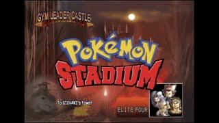 Download Pokémon Stadium - Gym Leader Castle - Elite Four & Rival Gary Video