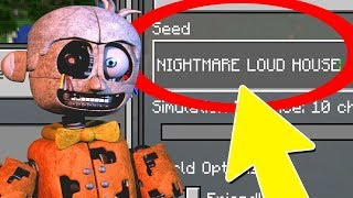 Download NEVER Play Minecraft NIGHTMARE LOUD HOUSE WORLD! (Haunted ″The Loud House″ Seed) Video