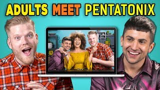 Download ADULTS REACT TO (AND MEET!) PENTATONIX Video