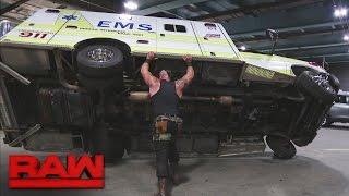 Download Braun Strowman savagely attacks Roman Reigns: Raw, April 10, 2017 Video