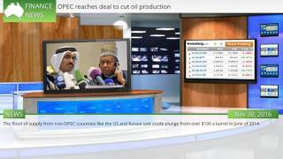 Download OPEC reaches deal to cut oil production Video