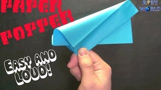 Download How to Make a Paper Popper! (Easy and Loud) - Rob's World Video