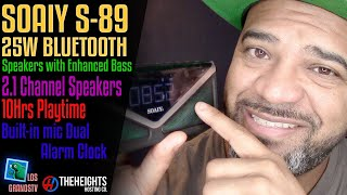 Download #SOAIY S-89 25W Bluetooth Speakers with Enhanced Bass 🔊 : #LGTV Review Video