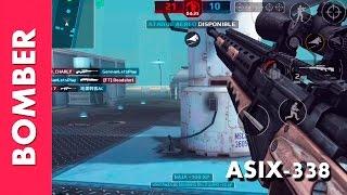 Download BOMBER con SNIPER ASIX-338 Modern Combat 5 Video