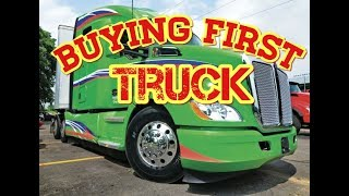Download Trucking: Buying First Truck as a Owner Operator Video
