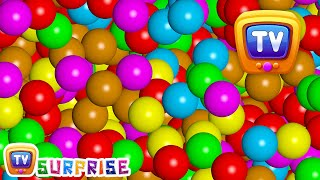 Download Magical Surprise Eggs Ball Pit Show For Kids | Learn Colours & Shapes | ChuChu TV Surprise Fun Video
