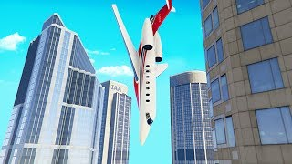 Download My Friends Private Jet Malfunctioned.. (GTA RP) Video