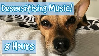 Download DOG DESENSITISATION! Music with Sound Effects to Desensitise Dogs to Noises and Reduce Anxiety! 🐶💤 Video