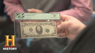 Download Pawn Stars: 1974 Misprinted $30 Bill (Season 14) | History Video
