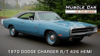 Download Muscle Car Of The Week Video Episode # 108: 1970 Dodge Charger R/T 426 Hemi Video