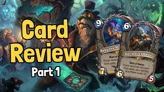 Download New Legendaries & Keywords! - Witchwood Card Review Part 1 - Hearthstone Video